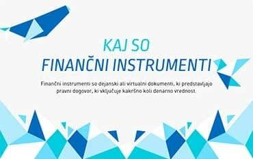 Kaj so finančni instrumenti