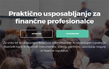 Aktualni finančni seminarji