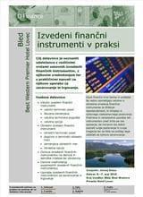 Brošura Izvedeni finančni instrumenti v praksi
