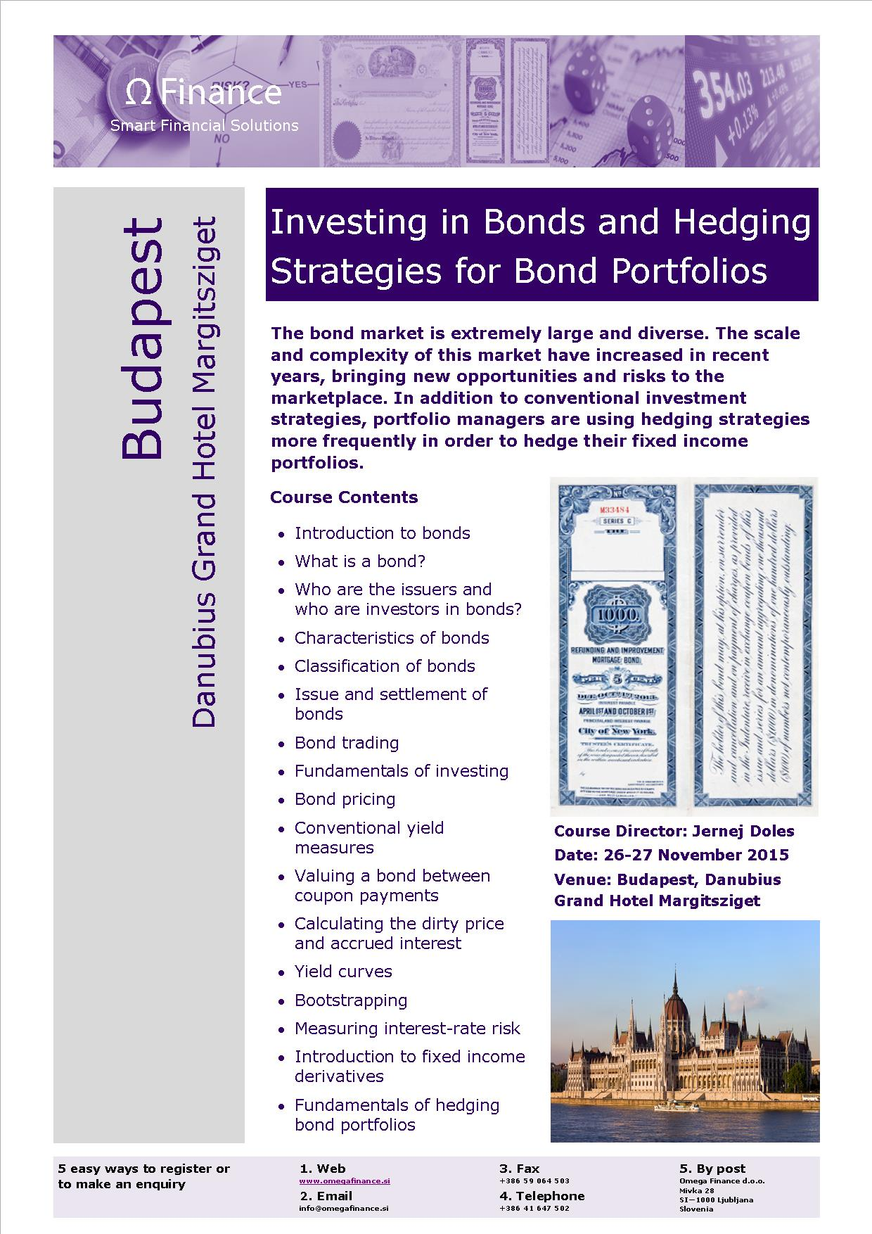 Trading strategies bonds